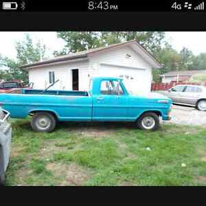72 ford f100
