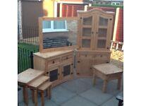 7 piece Pine Furniture For Sale