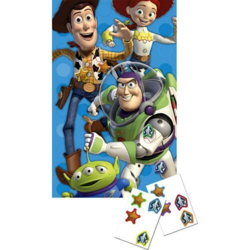 Hallmark Disney Toy Story Kids Birthday Holiday Party Game Favor Poster Stickers