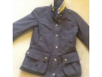 Joules waxed jacket, size 8