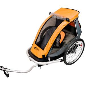 Chariot - remorque velo Mec avec jogging kit