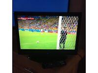 "Hitachi 19"" portable freeview colour Tv"