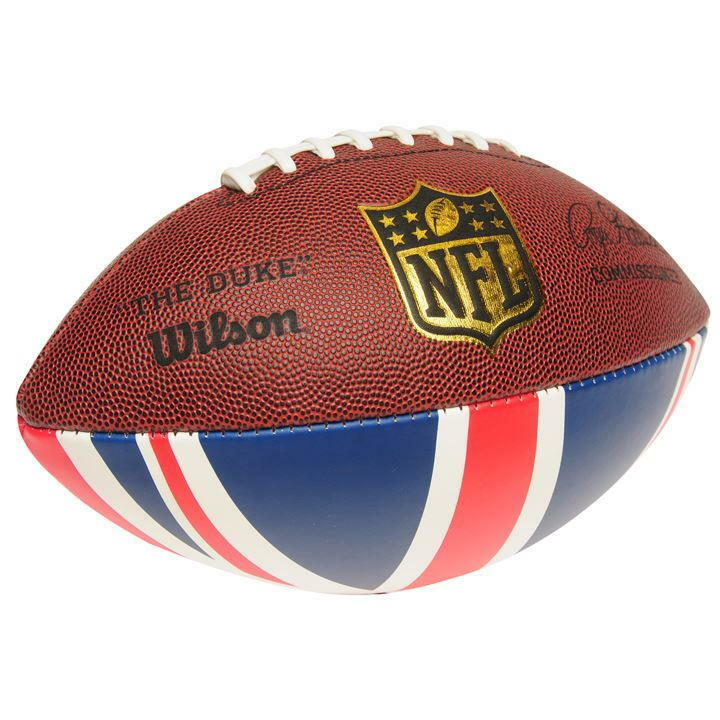 ✅ Official WILSON Football Duke UK AFB 84 American Super Bowl Ball Grip League