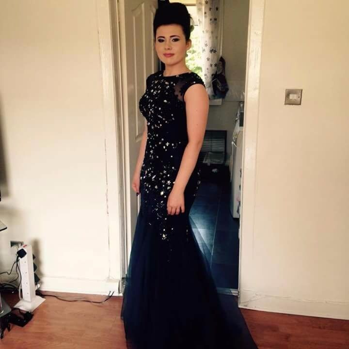 Prom Dress for salein Knightswood, GlasgowGumtree - Prom Dress for sale Worn once for a few hours Paid £350 would like £200 open to offers Size small 8 10 Im a 12 and it fitted me so its quite big made Can drop off Bought from Gabriellas dresses in Glasgow city centre