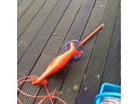 Electric hedge trimmer in vgc hardly used