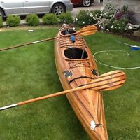 Cedar Strip Double Kayak