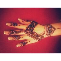 beautiful henna tattoo/ mehandi/ temporary tattoo