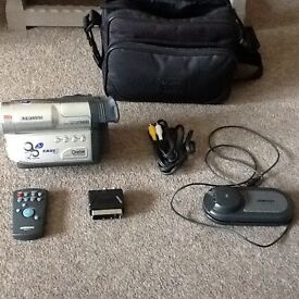 Samsung 8mm Camcorder and carry case