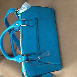 Brand new blue purse for sale