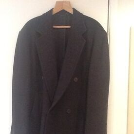 Men's Double Breasted all Wool Overcoat .