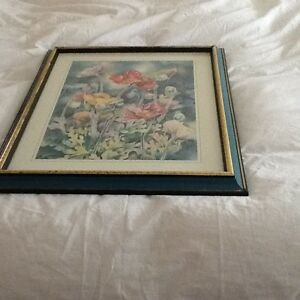 FRAMED FLORAL PRINT 18X23 Kitchener / Waterloo Kitchener Area image 2