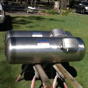 80ltr LPG Gas tanks 2x stainless steel 316 Willow Vale Gold Coast North Preview