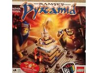 Lego Ramses pyramid game, immaculate and complete