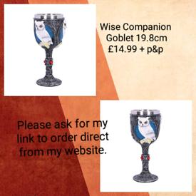 Goblet,£14.99 + p&p