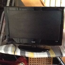 "Technika 26"" LED tv with integrated DVD player for sale"