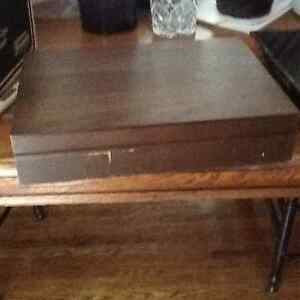 Silver plate cutlery and storage box Kitchener / Waterloo Kitchener Area image 4