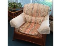 Conservatory Sofa and Two Armchairs Chairs