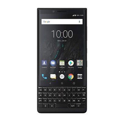 BlackBerry Key2 Dual Sim Smartphone (4,5 Zoll Display, 12 Megapixel Kamera, LTE, 6 GB RAM, 128 GB Speicher, Quick Charge 3.0, Android 8.1 Oreo) Schwarz