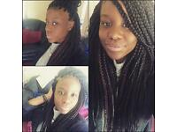 Mobile Afro & European hair dresser- BRAIDS BONANZA- £40!! for 1 WEEK ONLY
