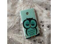 Green owl phone case Nokia Lumia 630