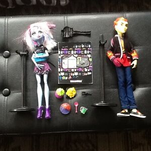 MONSTER HIGH 2 PACK HOME ICK ABBEY & HEATH DOLLS