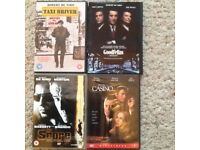 Set of 4 Robert De Niro films on DVD