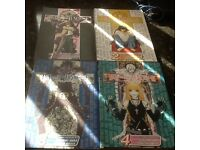 Manga books 1 to 4 death note
