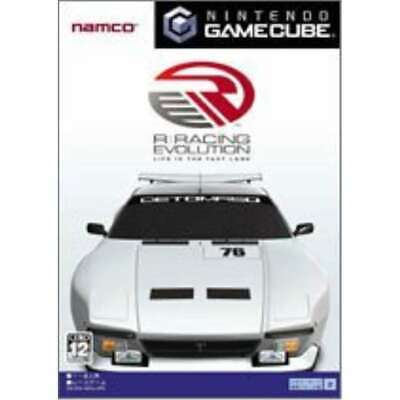 USED Gamecube R: RACING EVOLUTION with PAC-MAN VS. 72060 JAPAN IMPORT