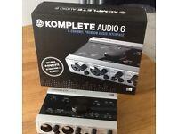 Native instruments komplete audio 6 soundcard