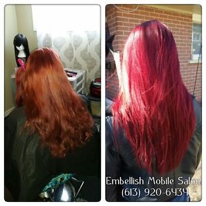 Weddings, Hair Extensions, Hair Colour, Highlights, Cuts & More Belleville Belleville Area image 3