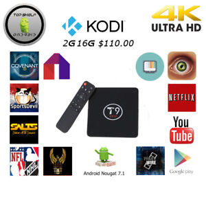 Android Boxes T9 S912 Octacore 2G 16G Android 6.0 Marshmallow