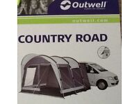 Outwell Country Road Driveaway Awning for Campervan VW T Bongo (170cm-220cm)