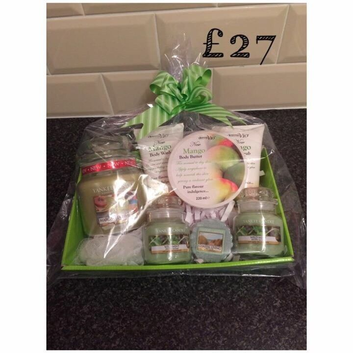 Yankee candle hampers