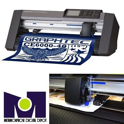 "Graphtec America Cut Plotter CE6000-40 (40 cms) (15"") TOP SELLER"
