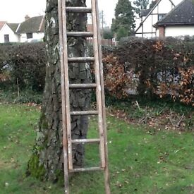 Ladders - Wooden extendable. REDUCED PRICE
