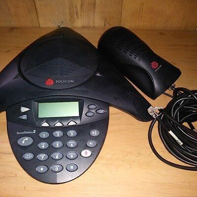 Polycom Soundstation 2 2201-16200-601 Expandable Conference Speaker Phone System