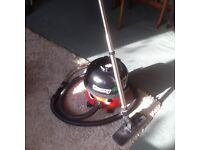 HENRY NUMATIC HVR-200A VACUUM CLEANER TWIN SPEED. IN VERY GOOD WORKING ORDER.