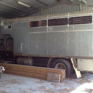 1974 V8 Dodge truck with horse box Koonwarra South Gippsland Preview