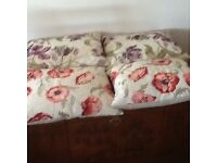 Lovely floral Laura Ashley cushions, in excellent condition