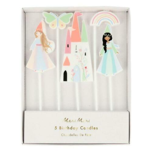 Meri Meri Magical Princess Cake Candles Decorations Birthday Topper Party Kids