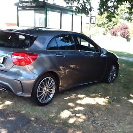 Mercedes a class Amg sport auto 1.8 .mountain grey.full service history.17500 miles.