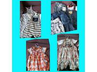 Baby boy clothes 3-6 & 6-9