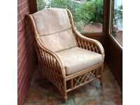 Conservatory cane chairs. In good condition from pet and smoke free home.