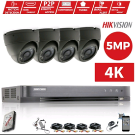 WE CAN BEAT ANY QUOTE FOR CCTV HIKVISION 5MP 8MP SUPPLIED INSTALLED