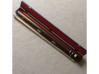 Boxed snooker/pool cue