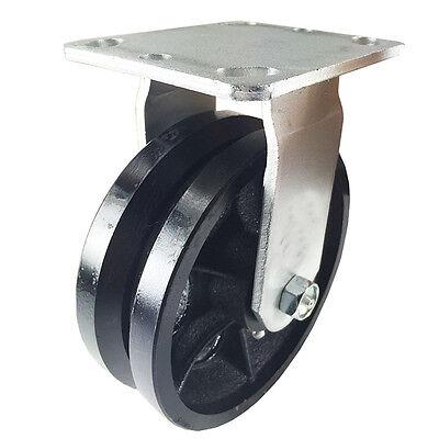 6 X 2 V-groove Caster - Rigid