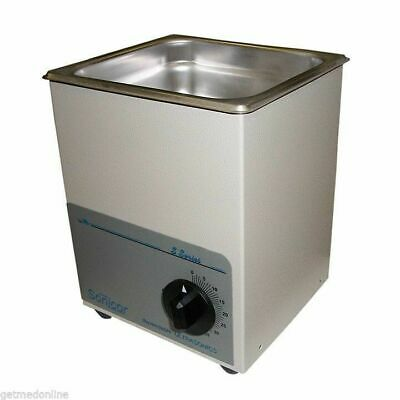New Sonicor Stainless Steel Tabletop Ultrasonic Cleaner 0.5 Gal Capacity S-50t