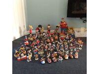 Huge amount of Beano figurines.