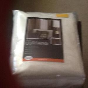 New embossed cream pinch pleat curtains Gosnells Gosnells Area Preview
