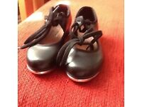 Girls' Bloch tap shoes. Size 9